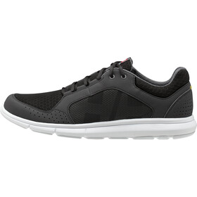 Helly Hansen Ahiga V4 Hydropower Shoes Men, jet black/white/silver grey/excalibur